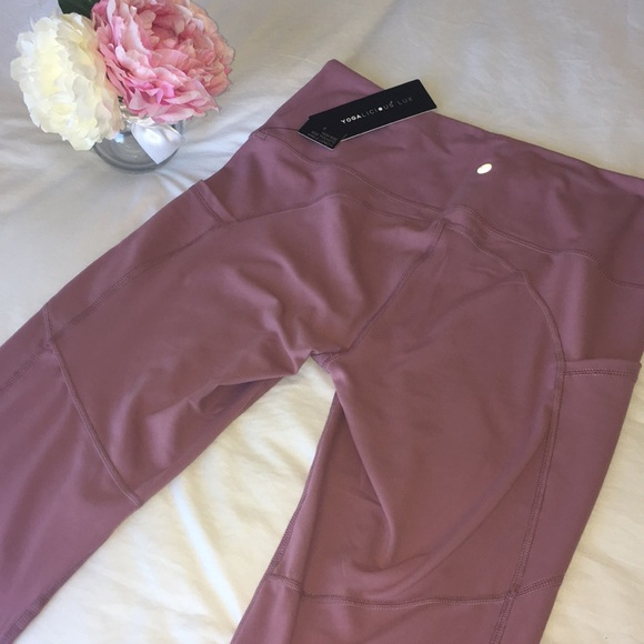 2b8106735fdd9 Yogalicious Pants | New Legging Yoga High Rise Side Pocket L | Poshmark